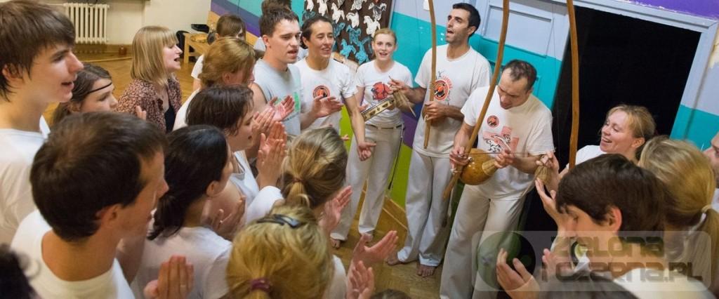 Reportaż zdjęciowy z treningu Capoeiry w Warszawie