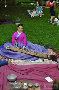 koreańska ceremonia herbaciana