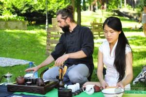 parzym w parze na festiwalu Święto Herbaty